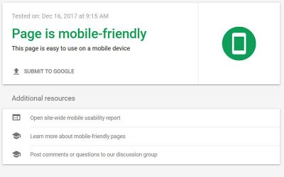 Why Google likes mobile-friendly sites
