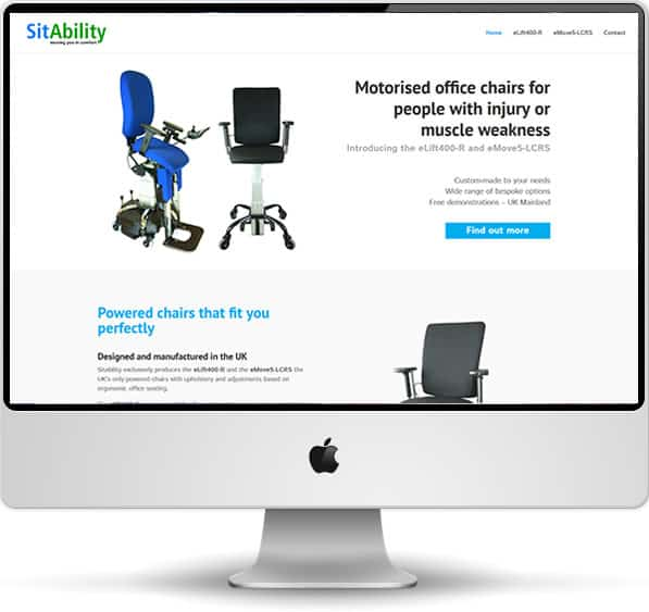 Sitability website screenshot